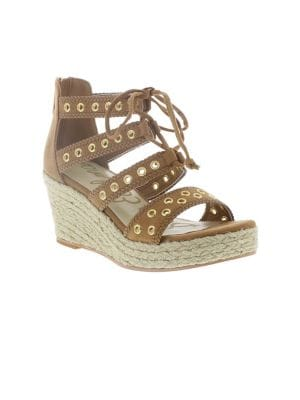 Elsie Daniell Wedge Sandals...