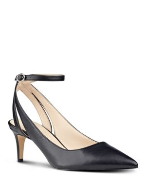 Shawn Leather Pumps by Nine West