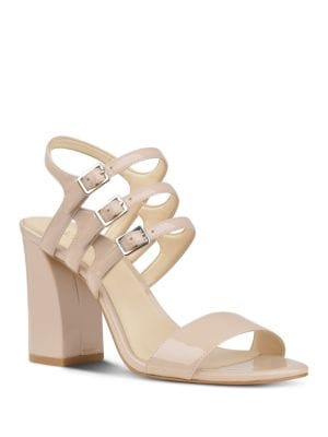 Hadil Patent Leather Dress Sandals by Nine West