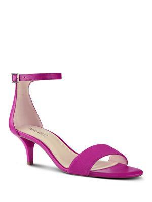 Leisa Suede Sandals by Nine West