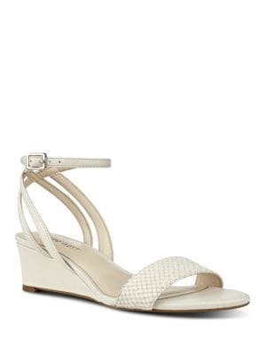 Lewer Low Wedge Sandals by Nine West