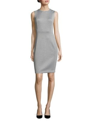 Knit Sheath Dress by Calvin Klein