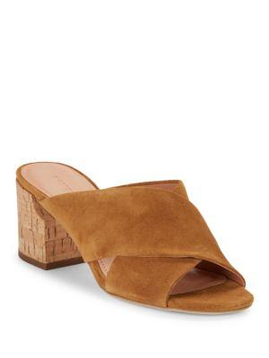 Photo of Rhoda Suede High-Heel Sandals by Sigerson Morrison - shop Sigerson Morrison shoes sales