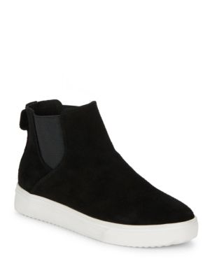 Baxton Waterproof Suede Slip On Sneakers by Blondo
