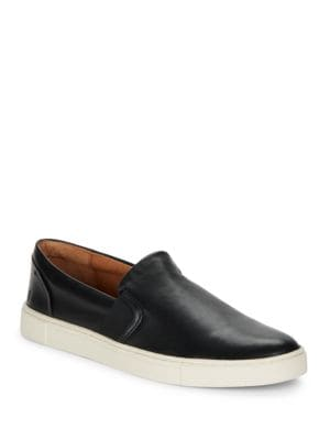 Ivy Slip-On Leather Sneakers by Frye