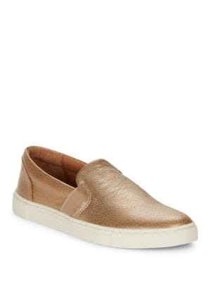 Ivy Leather Slip-On Sneakers by Frye