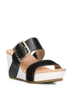 Original Frill High Wedge Sandals by Dr. Scholl's