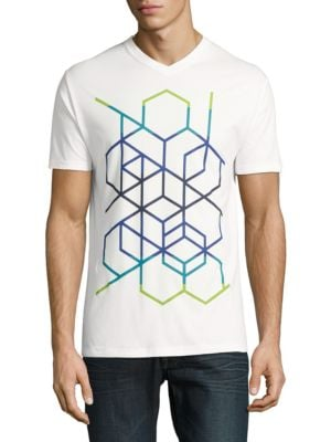 Geo Abstract Graphic Tee by Highline Collective