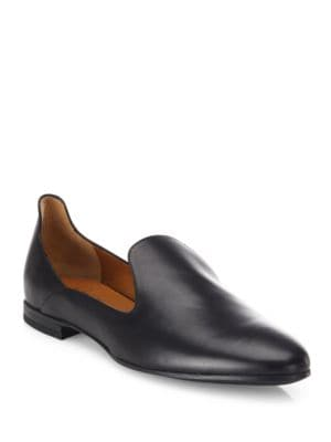 Emmaline Leather Loafers by Aquatalia