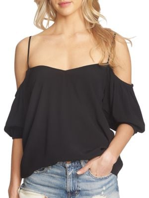 Tahiti Cold Shoulder Blouse by 1.STATE
