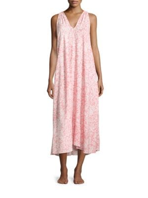 Printed Nightgown by Oscar de la Renta