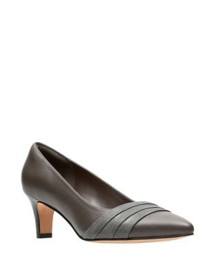 Breathable Leather Pumps by Clarks