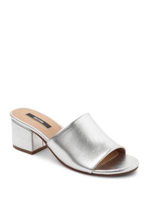 Helina Textured Slide Sandals by Kensie