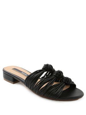 Buy Kylee Strappy Knot Slide Sandals by Kensie online