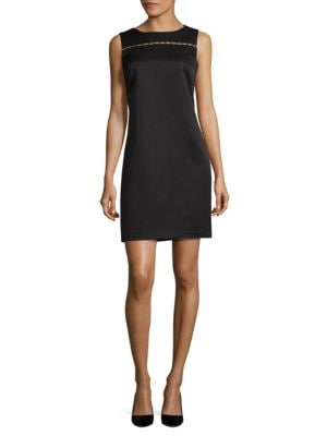 Beaded Sheath Dress by Ellen Tracy