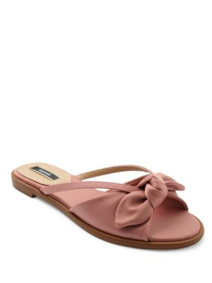 Major Cutout & Bow Sandals by Kensie
