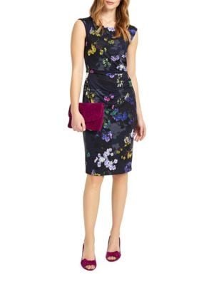 Emma Floral Printed Dress by Phase Eight