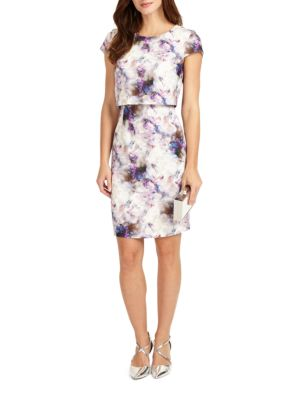 Effie Printed Dress by Phase Eight