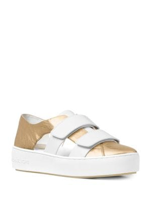 Beckett Leather Sneakers by MICHAEL MICHAEL KORS