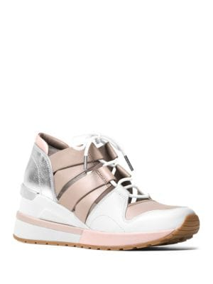 Beckett Leather Trainer Shoes by MICHAEL MICHAEL KORS