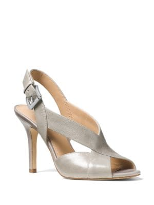 Becky Leather Sandals by MICHAEL MICHAEL KORS