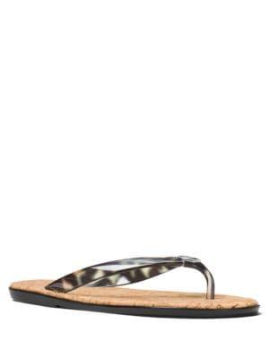 Buy Jet Set MK Jelly Flip Flop Sandals by MICHAEL MICHAEL KORS online