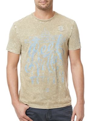Tijoy Crew Tee by BUFFALO David Bitton