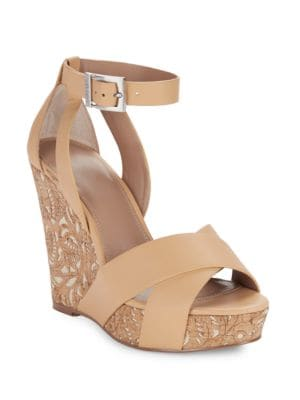 Amsterdam Open Toe Wedge Sandals by Charles by Charles David