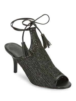 Niko Woven Heels by Charles by Charles David