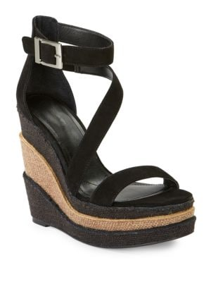 Thunder Open Toe Wedge Sandal by Charles by Charles David