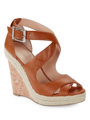 Belfast Strappy Wedge Sandal by Charles by Charles David