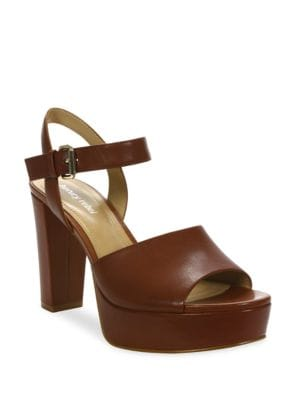 Emila Leather Dress Sandals by Luxury Rebel