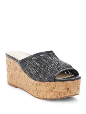 Buy Crisp Platform Sandals by Charles by Charles David online