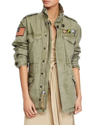 Canvas Military Jacket by Polo Ralph Lauren