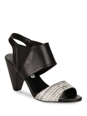 Floquet8 Contrast Slingback Sandals by Karl Lagerfeld Paris