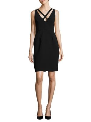 Crisscross Sheath Dress by Lauren Ralph Lauren