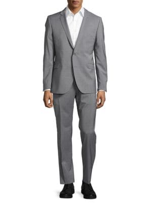 Two-Button Wool-Blend Suit Set by strellson