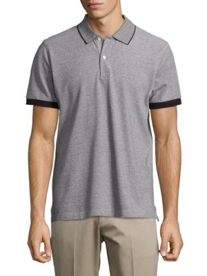 Short Sleeved Knit Polo Shirt by Paul And Joe