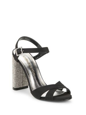 Hayley Embellished Evening Sandals by Caparros