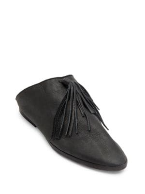 Matisse Arabian Leather Point Toe Mules by Matisse