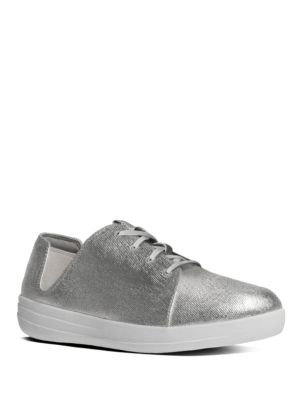 F-Sporty Canvas Lace-Up Sneakers by FitFlop