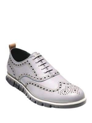 Zerogrand Leather Wing Oxford Shoes by Cole Haan