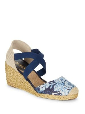 Casandra Espadrille Wedge Sandals by Lauren Ralph Lauren