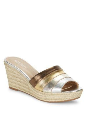 Karlia Espadrille Wedge Sandals by Lauren Ralph Lauren