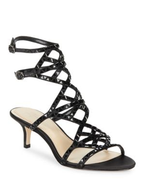 Kimbar Embellished Cage Sandals by Imagine Vince Camuto