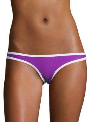 Low-Cut Reversible Bikini Swim Bottoms by Design Lab Lord & Taylor