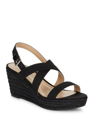Katerina Wedge Sandals by Lauren Ralph Lauren