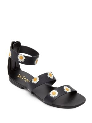 Nikita Leather Printed Sandals by Matisse