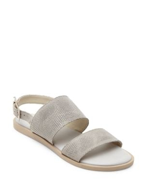 Opera Leather Flat Sandals by Matisse