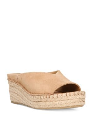 Pine Suede Espadrille Wedge Sandals by Franco Sarto